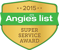 Big John's Moving Angie's List Super Service Award