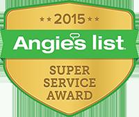 Big John's Moving Angie's List Super Service Award