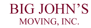 Big John's Moving INC. Logo